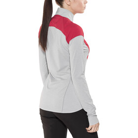 Arc'teryx Taema Zip Neck LS Top Women rad/athena grey